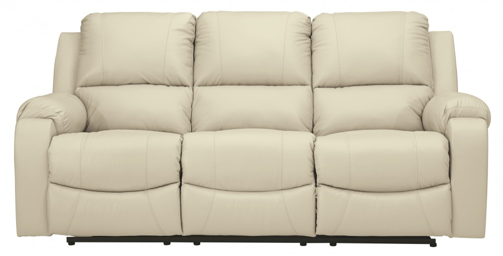 Rackingburg Vanilla Reclining Sofa U3330288 Leather