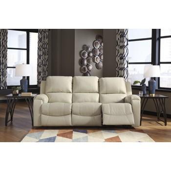 Rackingburg - Vanilla - Reclining Sofa