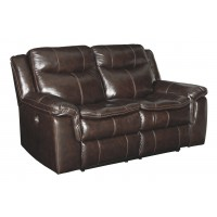 Lockesburg - Canyon - Reclining Power Loveseat