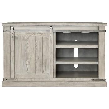 Carynhurst - White Wash - Medium TV Stand