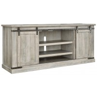 Carynhurst White Wash Extra Large Tv Stand W755 68
