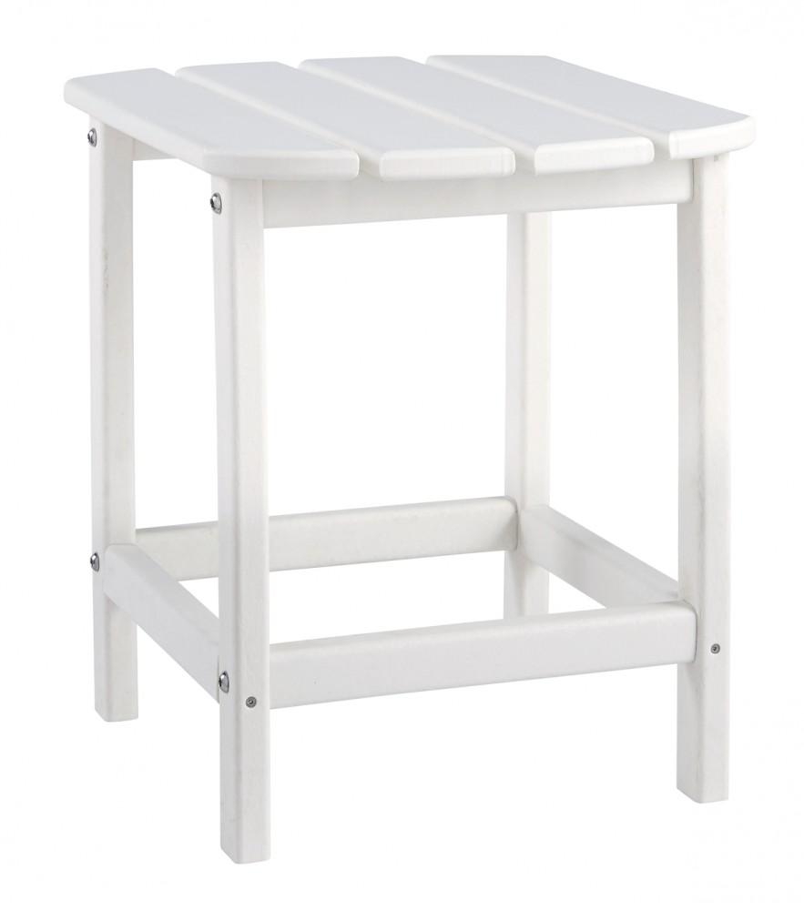 Sundown Treasure - White - Rectangular End Table