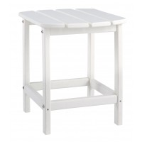 Sundown Treasure - White - Rectangular End Table