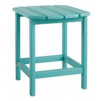 Sundown Treasure - Turquoise - Rectangular End Table
