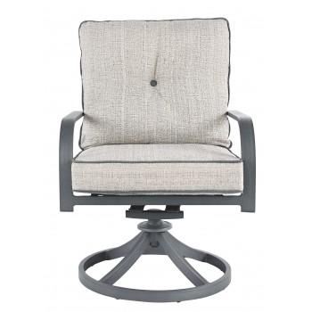 Donnalee Bay - Dark Gray - Swivel Lounge Chair (2/CN)