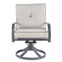Donnalee Bay - Dark Gray - Swivel Lounge Chair (2/CN)