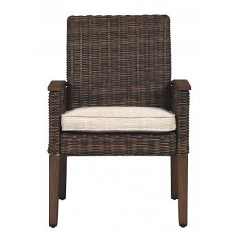 Paradise Trail - Medium Brown - Arm Chair With Cushion (2/CN)