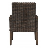 Paradise Trail - Medium Brown - Arm Chair With Cushion (2/CN)
