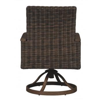 Paradise Trail - Medium Brown - Swivel Chair w/Cushion (2/CN)