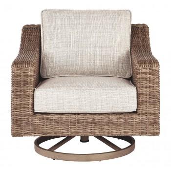 Beachcroft - Beige - Swivel Lounge Chair (1/CN)