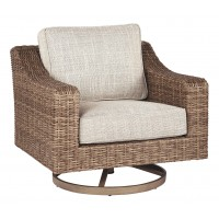 Beachcroft - Beige - Swivel Lounge Chair (1/CN)