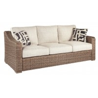 Beachcroft - Beige - Sofa with Cushion