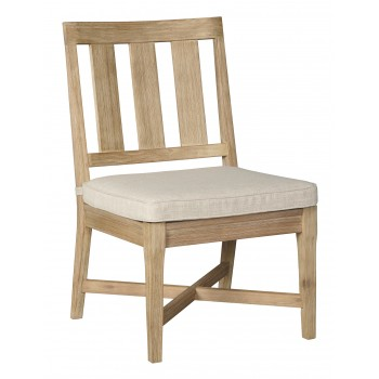 Clare View - Beige - Chair with Cushion (2/CN)