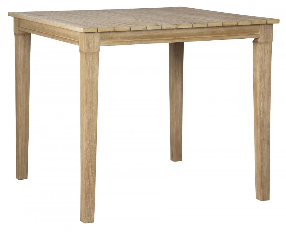 Clare View - Beige - Square Bar Table