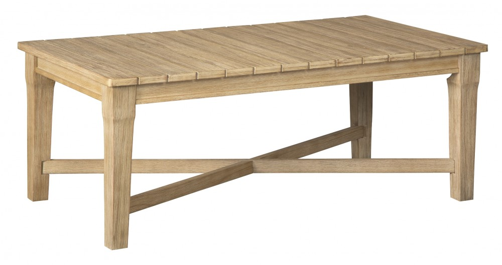 Clare View Beige Rectangular Cocktail Table P801 701