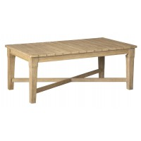 Clare View - Beige - Rectangular Cocktail Table