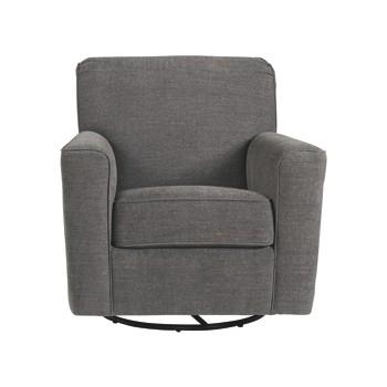 Alcona - Linen - Swivel Glider Accent Chair