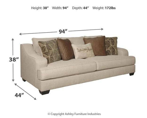 Marciana Bisque Sofa 2090138 Sofas Furniture