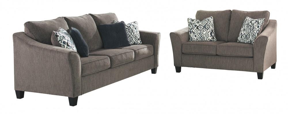 Cool Nemoli Slate Queen Sofa Sleeper Machost Co Dining Chair Design Ideas Machostcouk