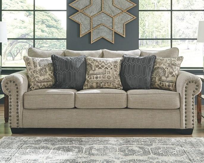Zarina Fossil Sofa 9770438 Sofas Furniture World
