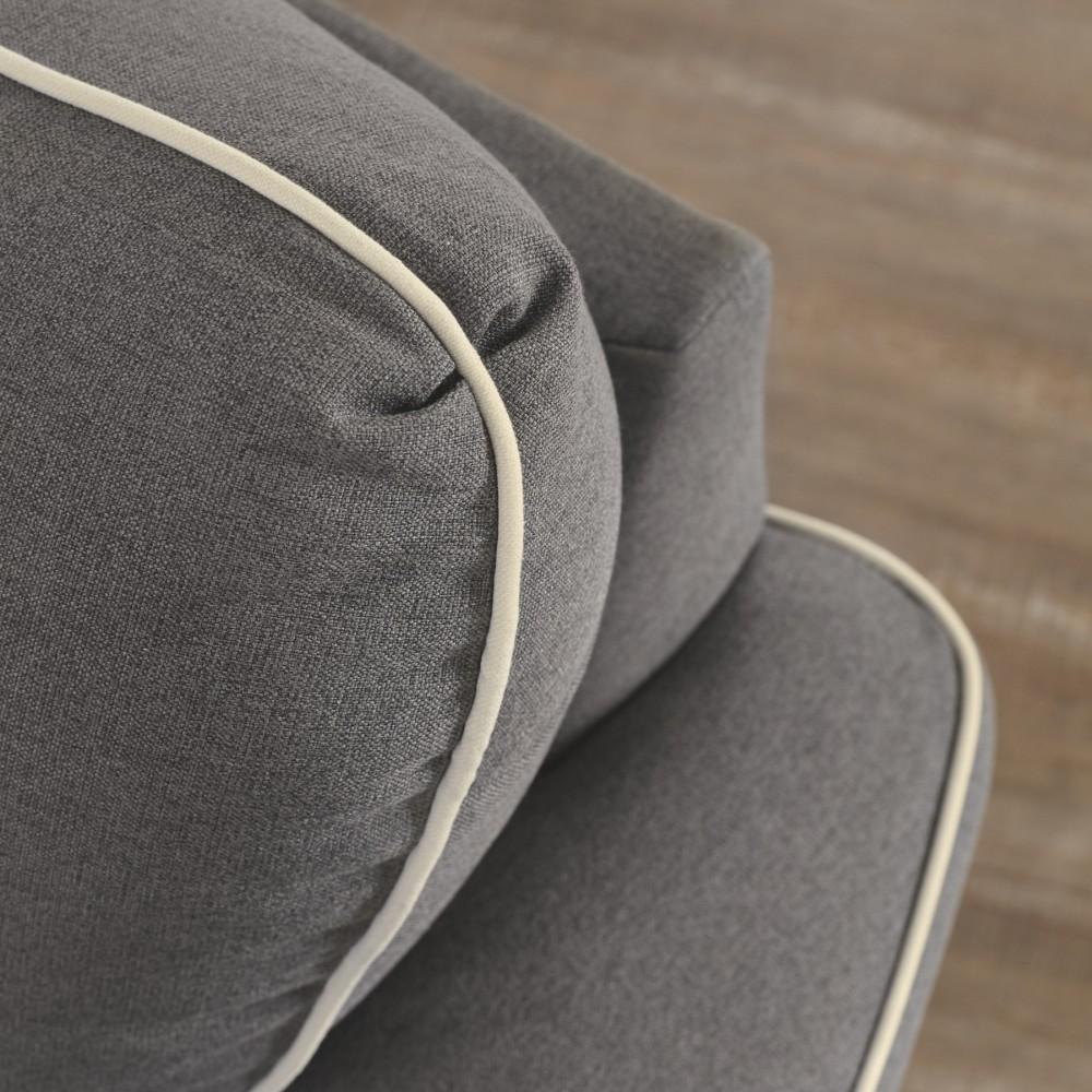 Domani Charcoal Queen Sofa Sleeper 9850439 Sleeper