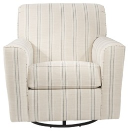 Awe Inspiring Alandari Gray Swivel Glider Accent Chair Caraccident5 Cool Chair Designs And Ideas Caraccident5Info