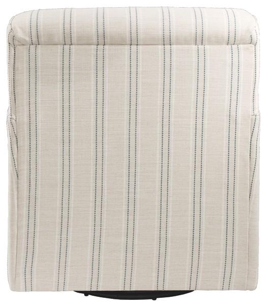 Pruitts Bedroom Furniture: Alandari - Gray - Swivel Glider Accent Chair
