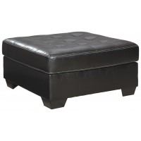 Jacurso - Charcoal - Oversized Accent Ottoman