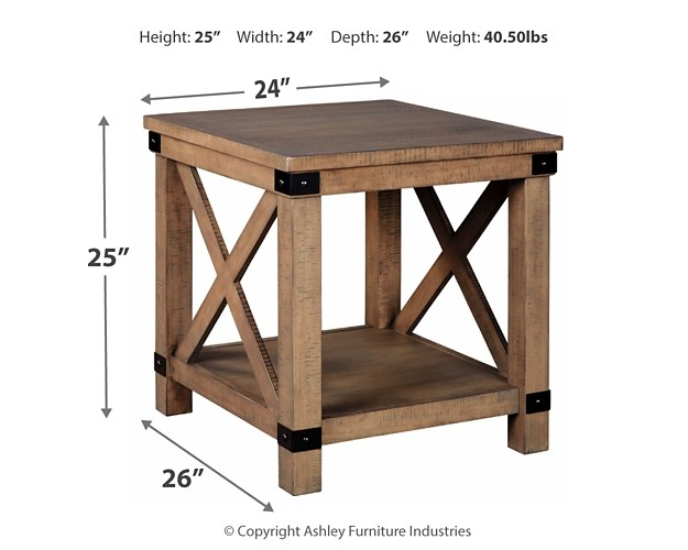 Aldwin   Gray   Rectangular End Table | T457 3 | End Tables | Terryu0027s  Furniture