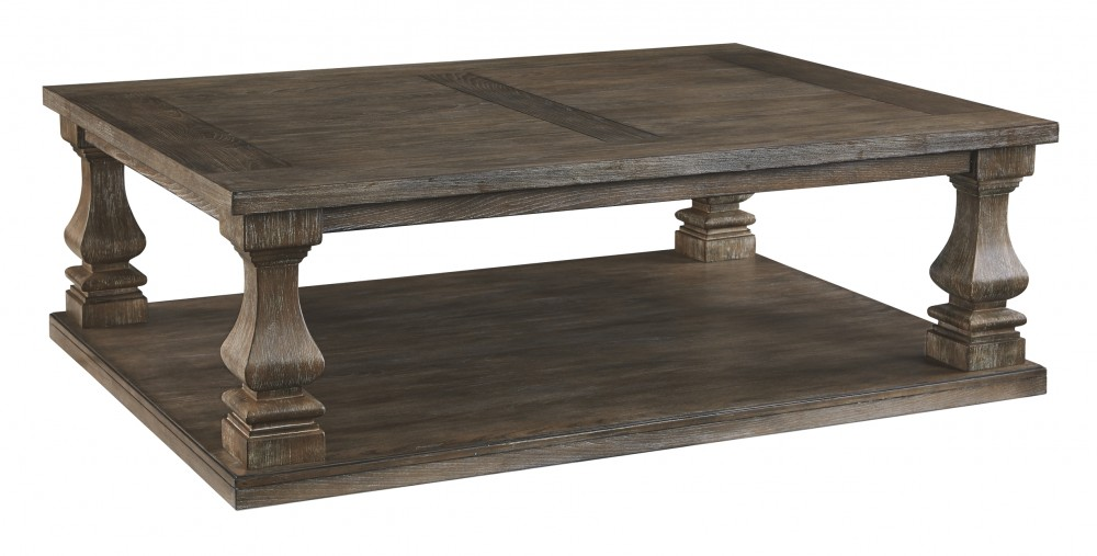 Fantastic Johnelle Gray Rectangular Cocktail Table Lamtechconsult Wood Chair Design Ideas Lamtechconsultcom