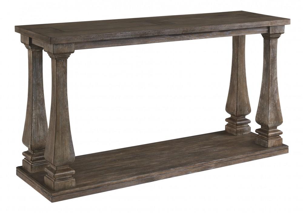 Groovy Johnelle Gray Sofa Table Creativecarmelina Interior Chair Design Creativecarmelinacom