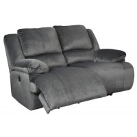 Clonmel - Charcoal - Reclining Power Loveseat