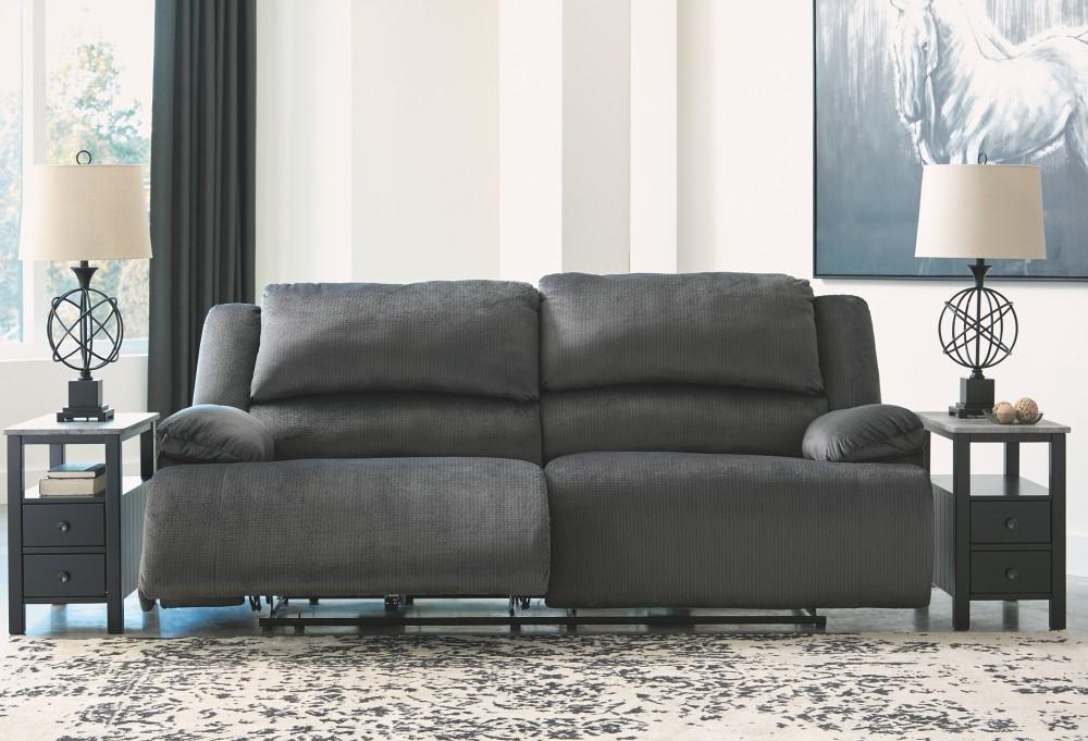 Clonmel - Charcoal - 2 Seat Reclining Sofa | 3650581 | Reclining ...