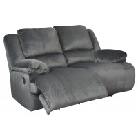 Clonmel - Charcoal - Reclining Loveseat