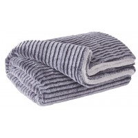Metea - Gray/Black - Throw