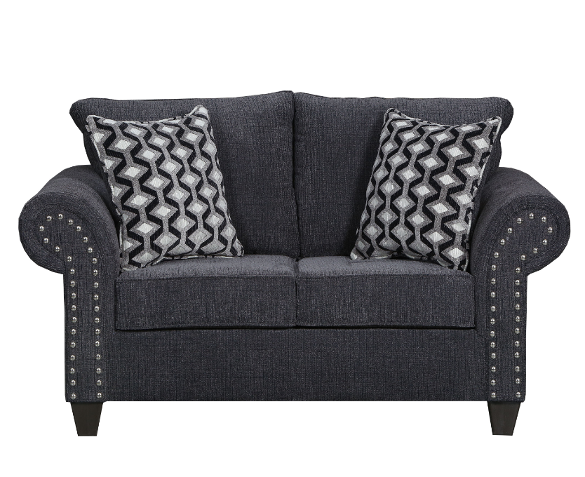 Reed Charcoal Loveseat
