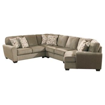 Patola Park 4-Piece Sectional with Cuddler