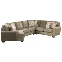 Patola Park - 4-Piece Sectional with Cuddler