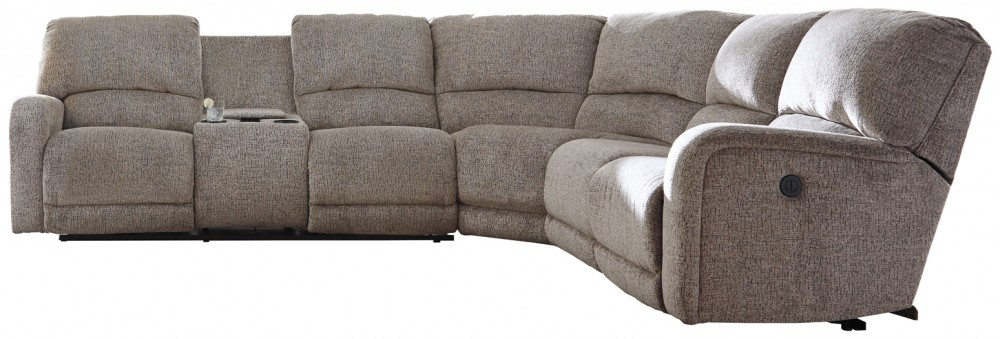 Pittsfield 4 Piece Reclining Sectional With Power