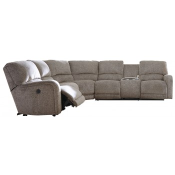 Pittsfield - Pittsfield 3-Piece Reclining Sectional with Power