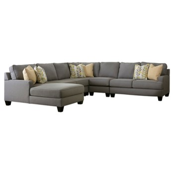 Chamberly - Chamberly 5-Piece Sectional with Chaise