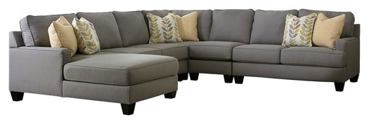 Chamberly - 5-Piece Sectional with Chaise