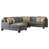Chamberly - Chamberly 4-Piece Sectional with Chaise