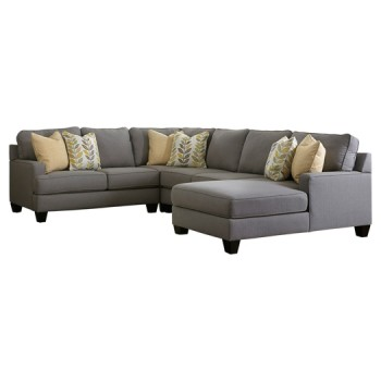 Chamberly - 4-Piece Sectional with Chaise