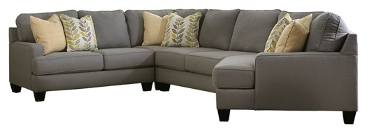Chamberly - 4-Piece Sectional with Cuddler