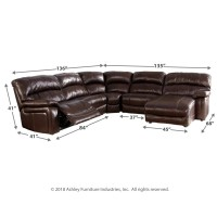 Damacio 5-Piece Sectional with Power