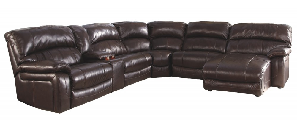 Damacio 6-Piece Reclining Sectional with Chaise and Power   U98200S4 ...