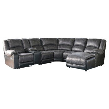 Nantahala - 6-Piece Reclining Sectional with Chaise