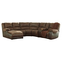 Nantahala - Nantahala 6-Piece Reclining Sectional with Chaise