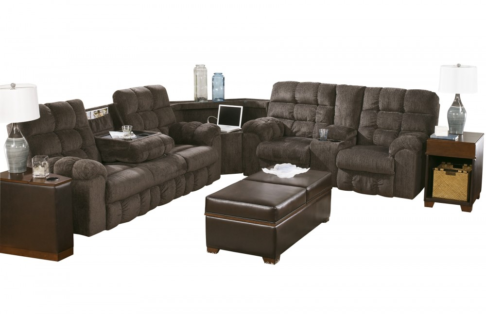 Acieona 3 Piece Reclining Sectional 58300s1 77 89 94